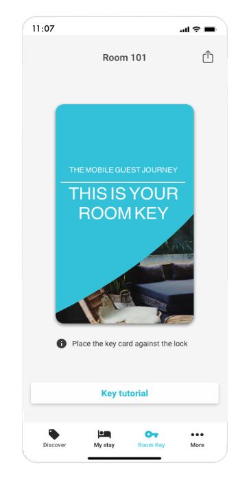 mobile key app